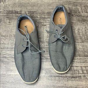 ALDO | Chambray Denim Two Tone Sneakers